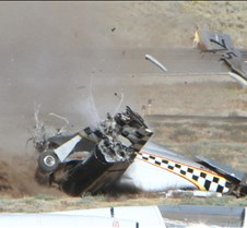 Thunder Mustang #75 Air Race Crash 462a