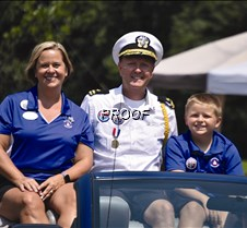 Vice- Commodore Terry Jones and family