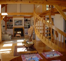 Living Room, Stairs from DR