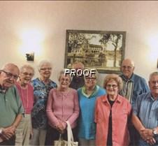 Albright class of 1950 reunion