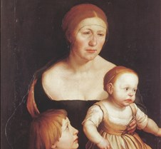 178Artist's Family-Hans Holbein the Youn