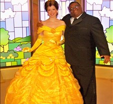 Beautiful Belle meets her Prince