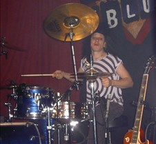 051 Ray on drums
