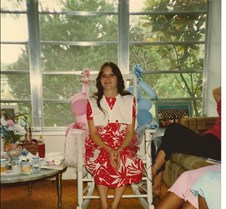 Maja's Baby Shower, Pregnant with Eddy 1