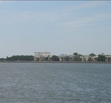 View of Charleston from the Harbour