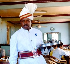 India - coffeeshop waiter