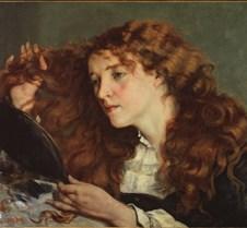 Jo the Beautiful Irish Girl-Gustave Cour