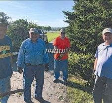 Glenwood Lions Trimming Trees  - Museum