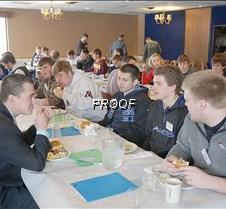 Senior boys lunch 2