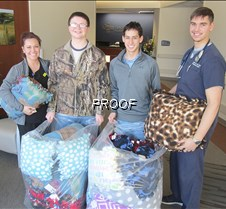 GRHS pillow donation