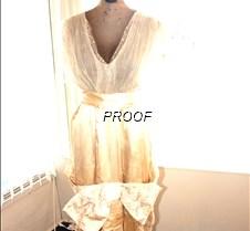 1914 Wedding gown