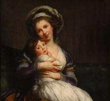 Madame Vigée Le Brun et sa fille - Élisa