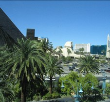 Looking at the MGM from south strip area