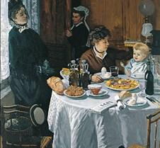 The Luncheon-Claude Monet-1868-Stadel Ge
