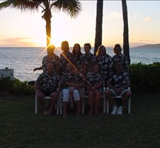 Maui Crowd 2005 at Sunset - 2