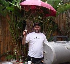 Baruch at the Bar B.Q.