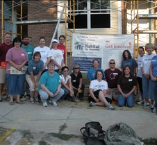 Habitat for Humanity P&G Beauty PS&RA volunteers @ Habitat for Humanity Walnut Hills