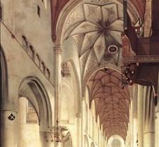 Interior Grote Kerk Haarlem-1648-Pieter