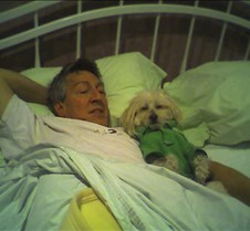 Copy of Ted and Toby in bed