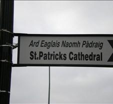Street sign  - Galic and English