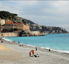 Beach, Nice, South of France