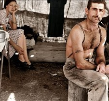 Unemployed lumber worker & wife, 1939