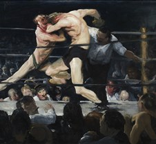 067Stag at Sharkeys-George Bellows-1909-
