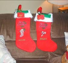 embroidered xmas stockings