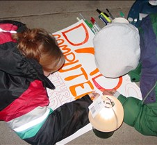 Patty & Vanessa coloring fiirst sign