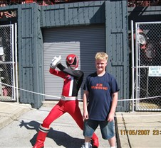 Tyler with Red Ranger