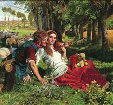 Hireling Shepherd-1851-William Holman Hu