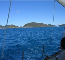 Sailing to St John