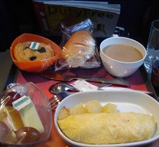 LAN 755 - Breakfast to SCL