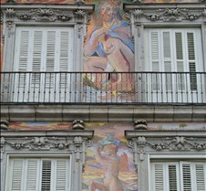 Bldg detail Plaza Mayor