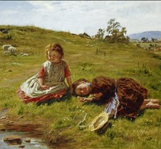 Spring-1864-William McTaggart-Scottish N