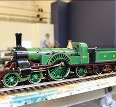 Pete Comely's BGN Stirling Single Loco