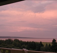 Sunset over the Bay of Fundy