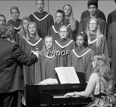 Choir sopranos