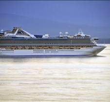 Golden Princess Heads South for the Wint