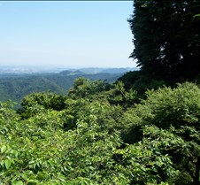View off Takao after lift 4