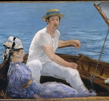 Boating - Édouard Manet - 1874 - Metropo