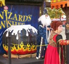 Wizard scene