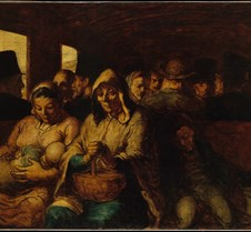 495Third Class Carriage-Honore Daumier-1