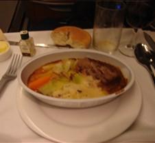BA 247 - Dinner - Steak