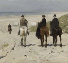 Morning Ride on the Beach-Anton Mauve-18