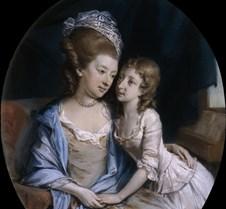Mother and Child-Hugh Douglas Hamilton-1