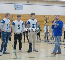 Football coach and captains
