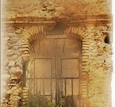 Italy stone window