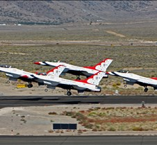 USAF Thunderbirds Taking Off