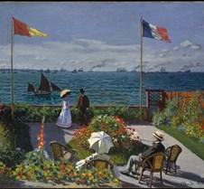 Garden at Sainte-Adresse-Claude Monet-18
